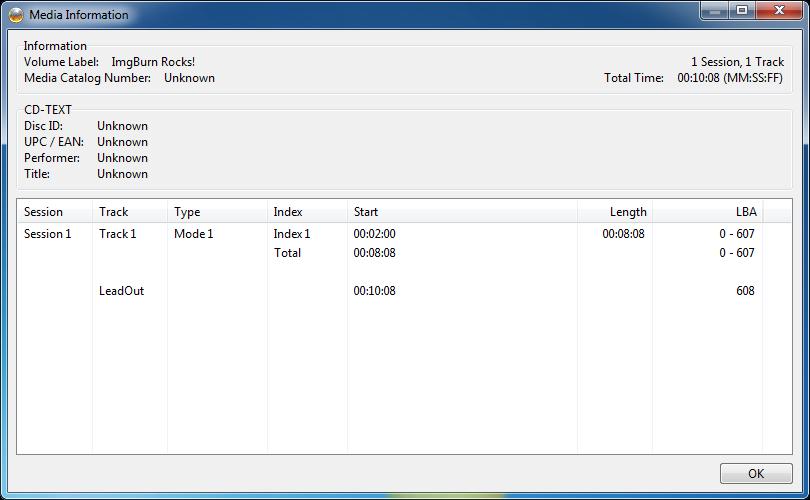 ImgBurn 2 5 7 0 Free by LIGHTNING ~ Online Software Free Download