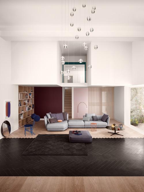 wonenonline rolf benz tondo ontvangt de interior. Black Bedroom Furniture Sets. Home Design Ideas
