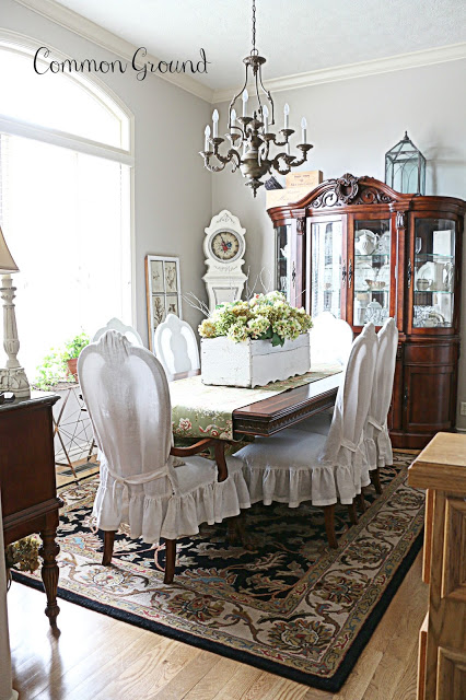 Common Ground- Dining Room Centerpiece-Treasure Hunt Thursday- From My Front Porch To Yours