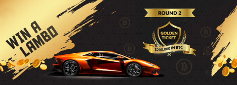 Bet and earn a chance to win a Lamborghini