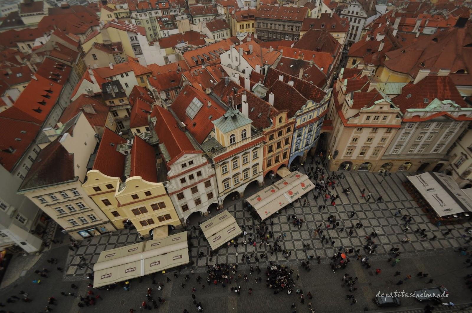 Torre del Ayuntamiento de Praga