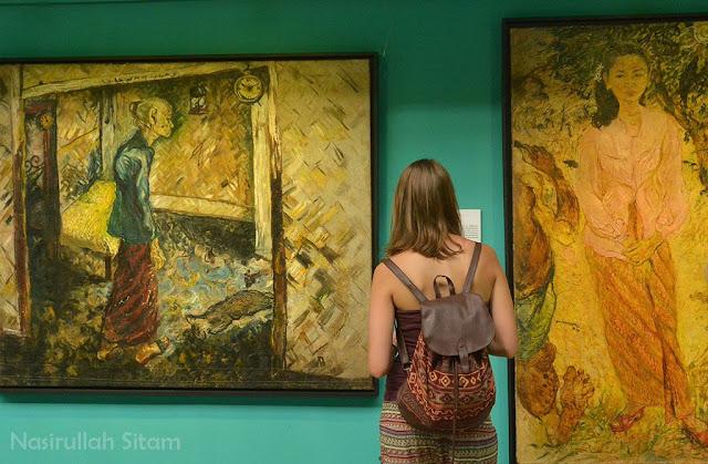 Mereka yang mengunjungi Museum Affandi