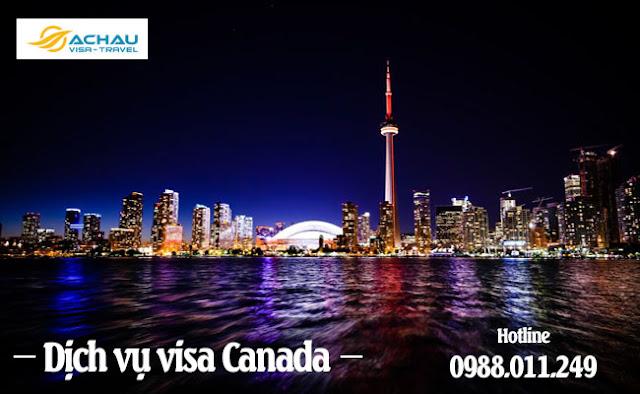 Dịch vụ visa Canada giá rẻ