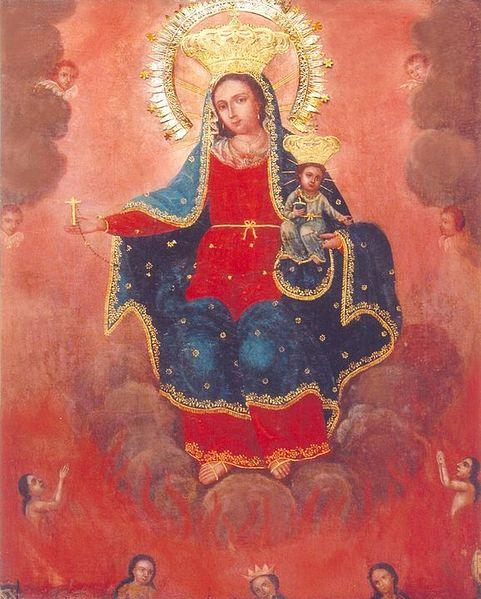 Miraculous image of Nuestra Seῆora del Santisimo Rosario de Caracol