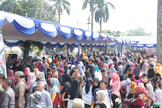 Hanya 21 Dari 55 Perusahaan  Kang  Ikut serta Bazar Murah Ramadhan