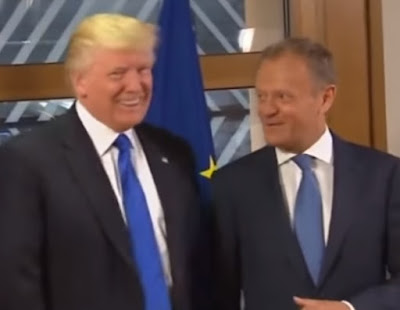 Donald Trump meets Donald Tusk