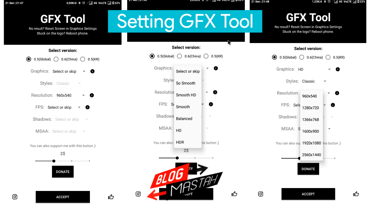 set gfx tool