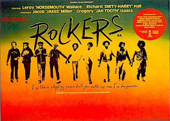 Rockers screens @ Royal Cinema, July 25