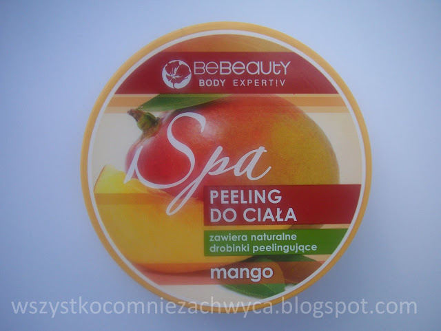 Biedronka, Be beauty, Spa, peeling do ciała, mango