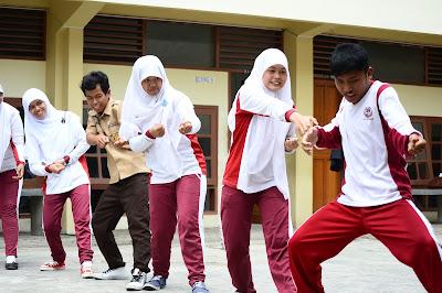 KSNT Gelar Pertunjukan dan Pelatihan di 7 Sekolah Sumatera Barat