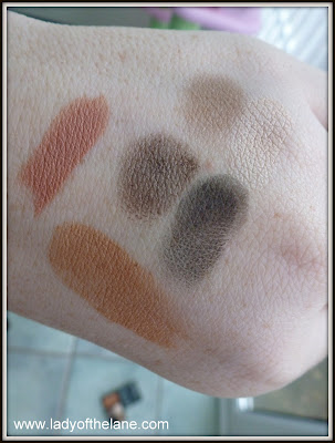 Carine Roitfeld for Mac swatches