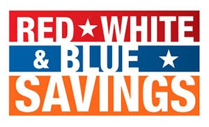 RED * WHITE * BLUE SAVINGS