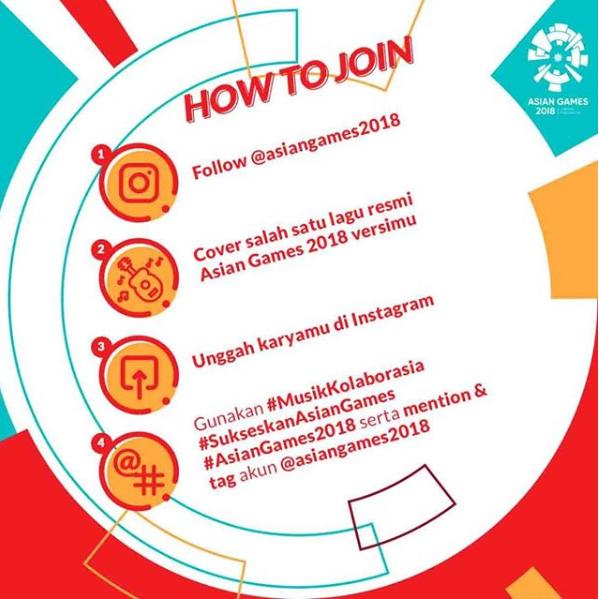 Download Mp3 Lagu Via Vallen Meraih Bintang Asian Games 2018: Cover Lagu Resmi Asian Games 2018 Di #MusikKolaborasia Dan