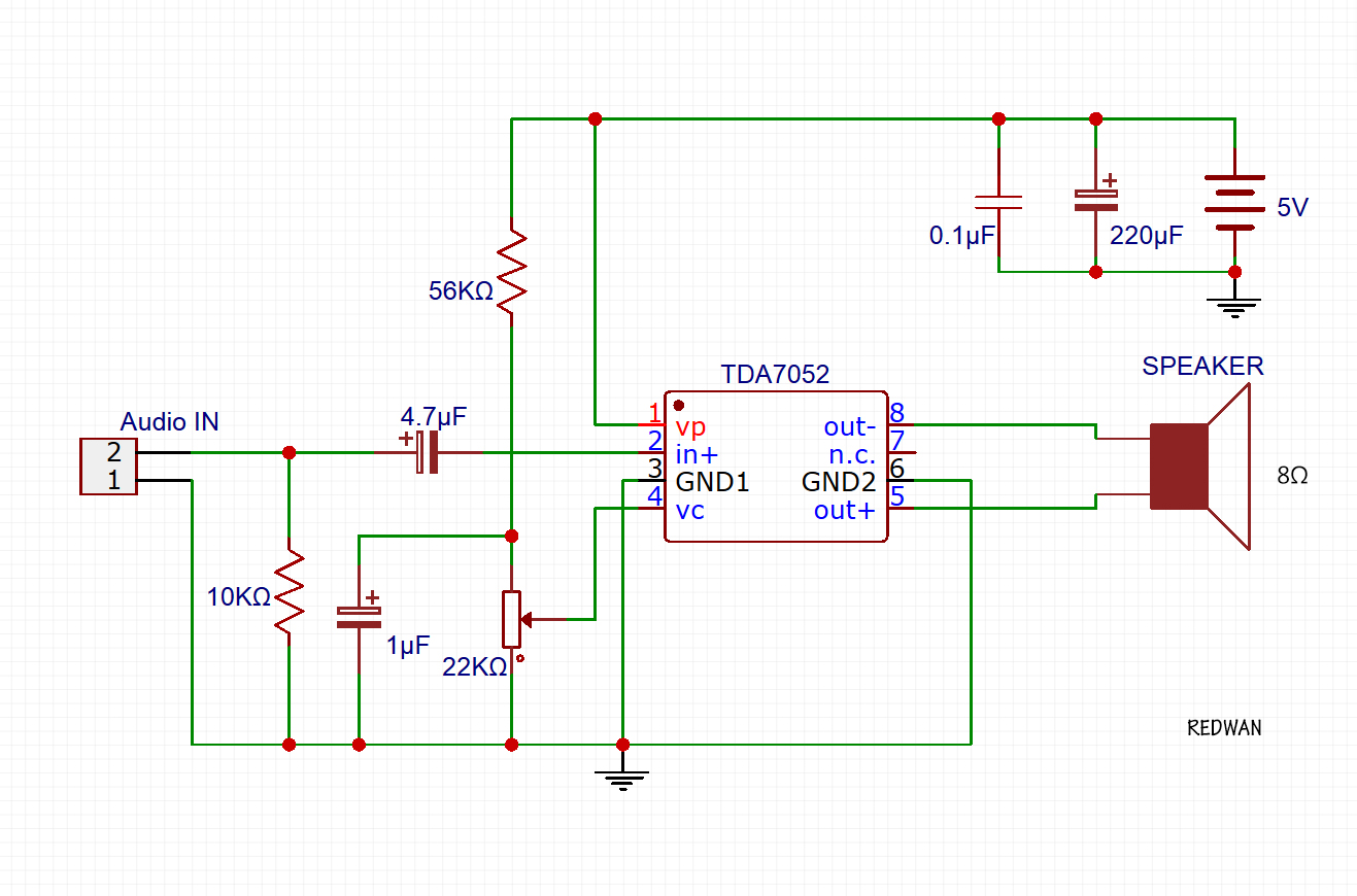 Scavengers Blog March 2014 Intercom Circuit Using Lm386 Ic Diagram