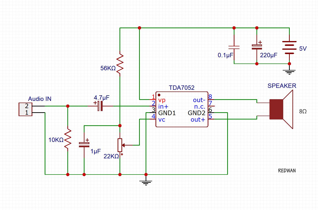 Scavengers Blog March 2014 Intercom Circuit Using Lm386 Ic Diagram