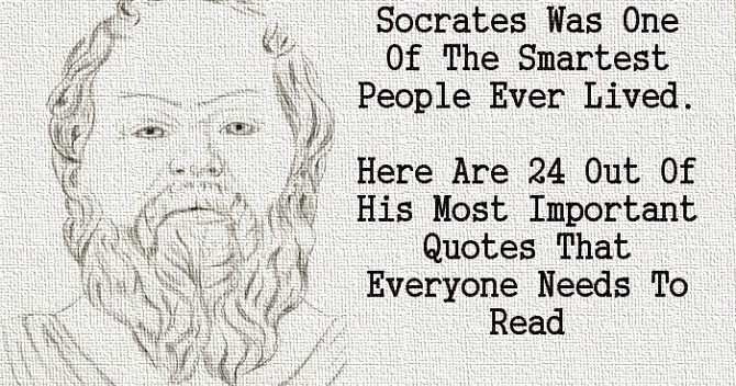 An insight into the philosophy of socrates