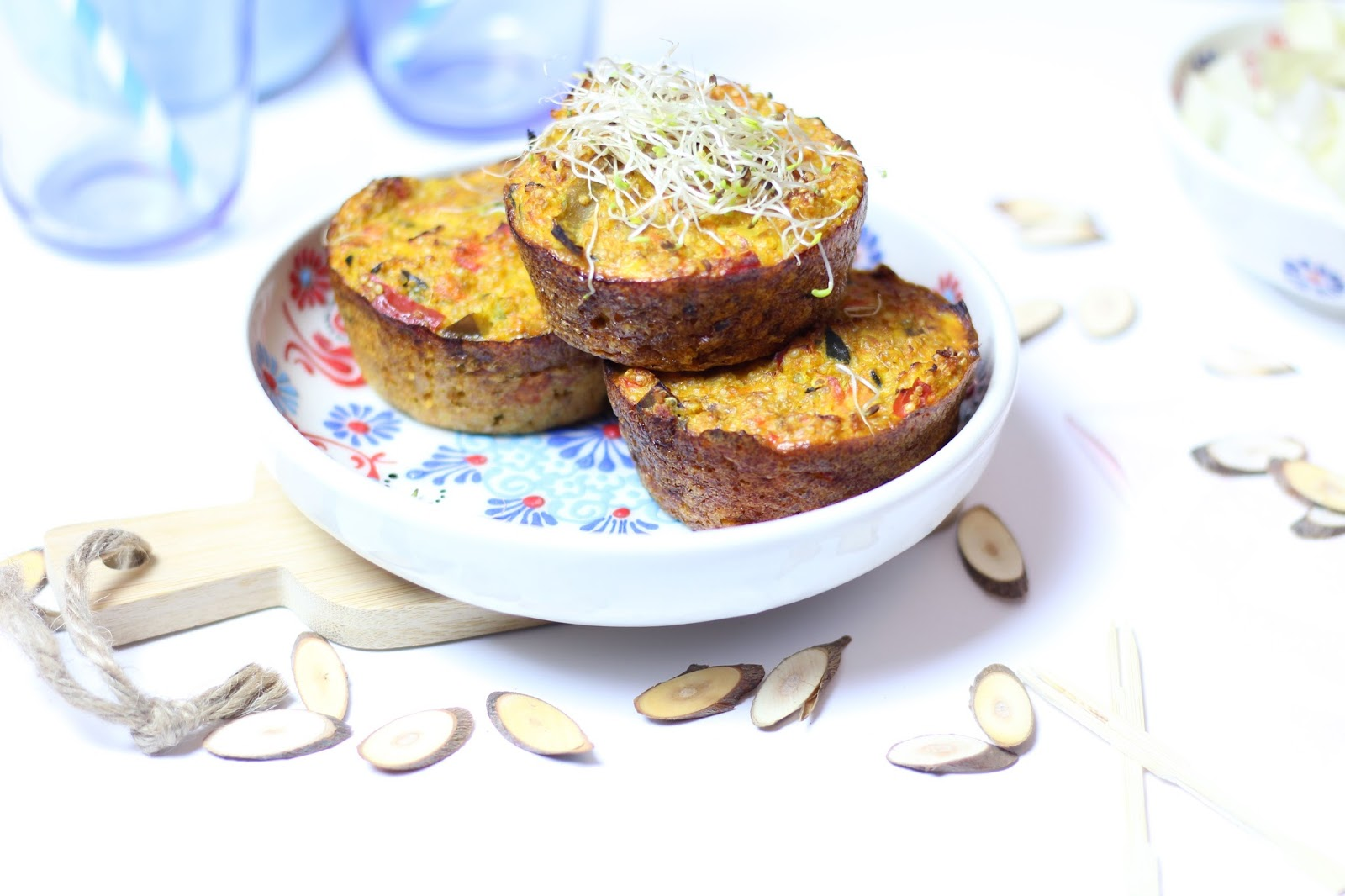Flan quinoa et légumes