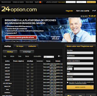 24 operaciones con opciones binarias