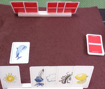 楽しい色並べ Farben Lernen 物のカードを出す