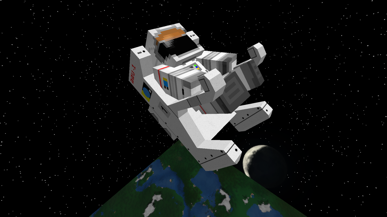 Galacticraft space station house