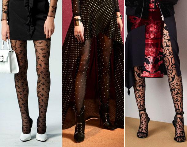какие колготки в моде весной 2019