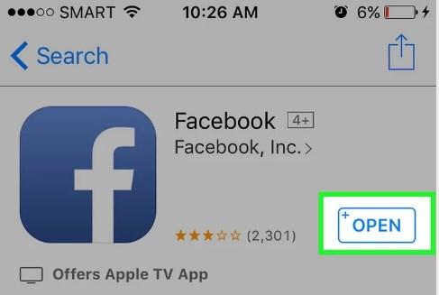 download facebook mobile app iphone