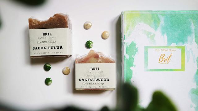 sabun organik untuk souvenir lebaran