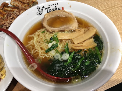 れんげ食堂Toshu(東秀)のラーメン