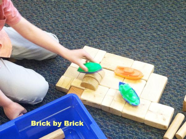 wooden blocks and boats (Brick by Brick)