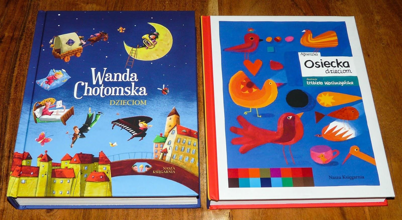 najlepsze wiersze dla dzieci, klasyczne opowiadania dla dzieci, Chotomska, Osiecka