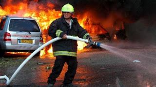 كتابة موضوع تعبير عن رجل الاطفاء