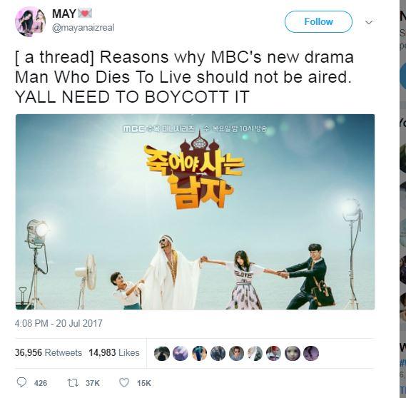 Netizen Dunia Kecam K-Drama 'Man Who Dies to Live' yang Dianggap Lecehkan Islam