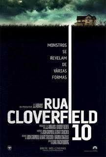 Pôster/cartaz/capa nacional de RUA CLOVERFIELD, 10 (10 Cloverfield Lane)