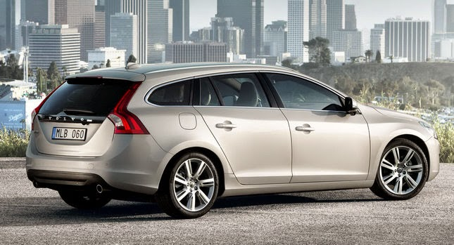 volvo v60 twin engine the first rechargeable diesel hybrid. Black Bedroom Furniture Sets. Home Design Ideas