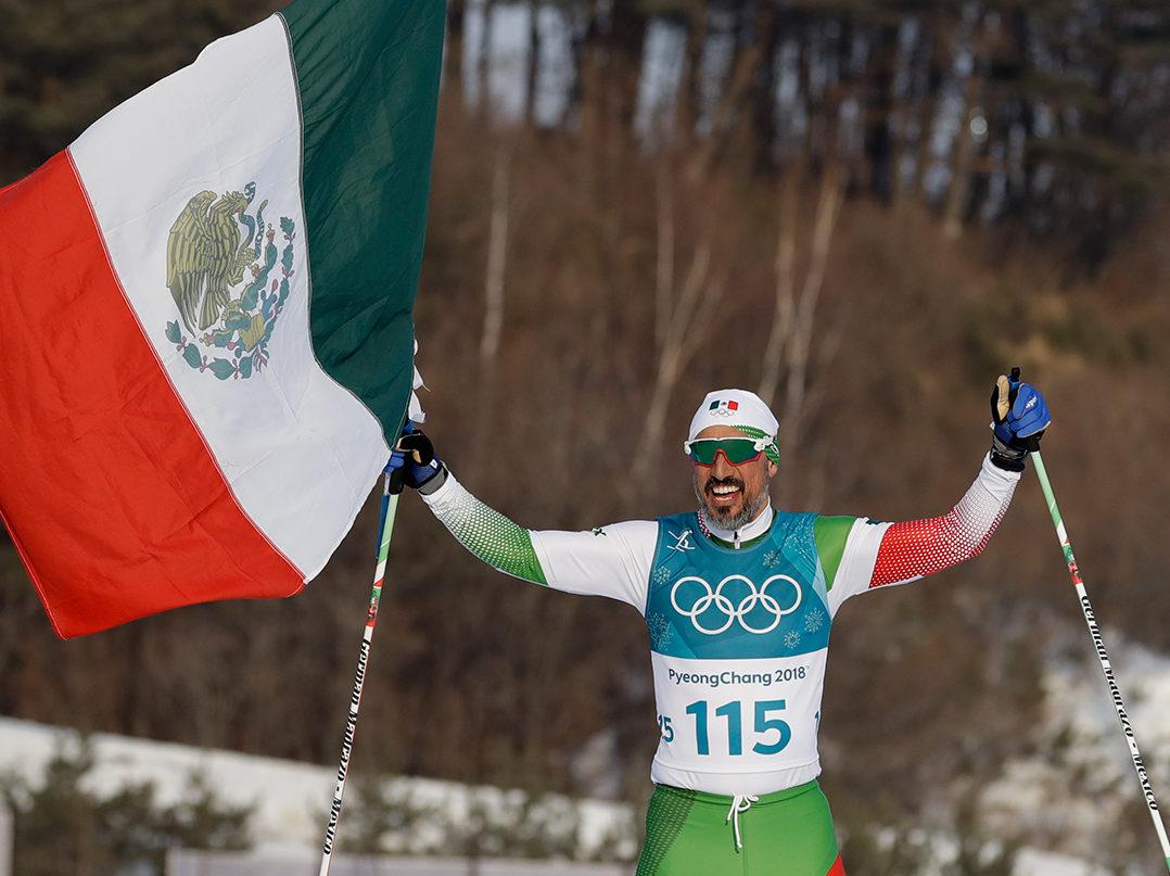 Vídeo: El mexicano Germán Madrazo, llega último y lo festejan como héroe en Olímpicos de Invierno