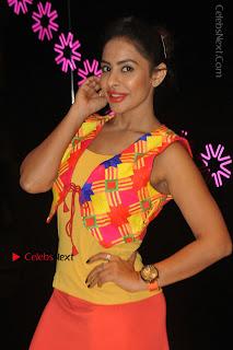Telugu Actress Model Sri Reddy Latest Stills in Yellow Dress  0027.JPG