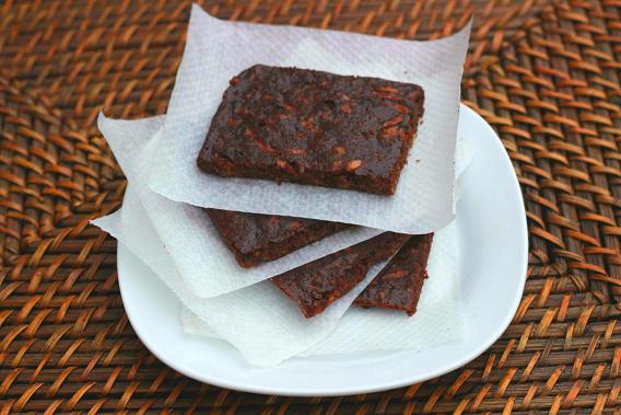 Brownie De Calabacín Sin Azúcar