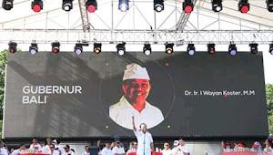 Kampanyekan Jokowi di Acara Polda, Gubernur Bali Minta Dicopot dari Jabatan