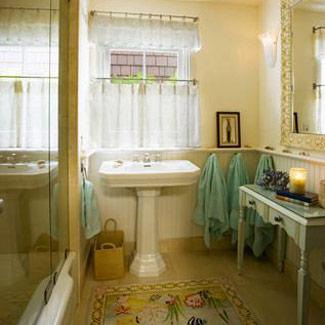 Bathroom Curtain Ideas For Windows