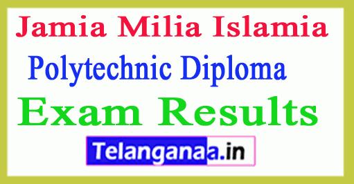 Jamia Polytechnic Diploma Engg Result