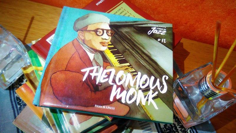 [RESENHA #546] COLEÇÃO FOLHA LENDAS DO JAZZ - VOLUME 12 - THELONIOUS MONK