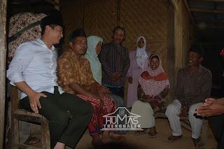 Ngantor di Desa, Wabup Arifin Bermalam di Rumah Warga Miskin