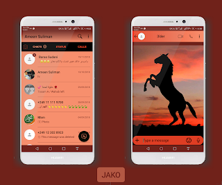 Horse Theme For YOWhatsApp & Fouad WhatsApp By Ameen Suliman