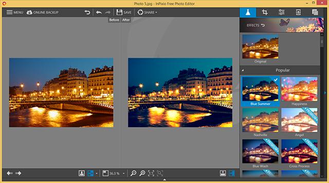 InPixio Photo Editor 10.0.7375.33790