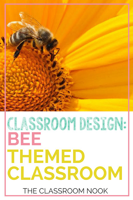 Create a bee-themed classroom with these tips and ideas for bee themed bulletin boards, bee themed accessories, and bee themed printable decor resources #classroomdecor #classroomdecorations #backtoschool #teacher #classroom