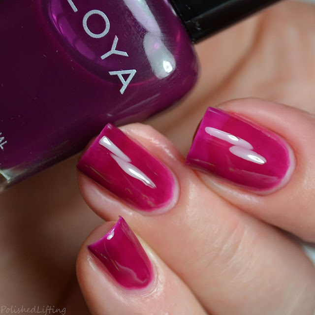 plum jelly nail polish