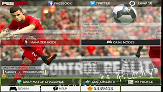 FTS Mod PES 2017 v3 by Rudy Apk + Data