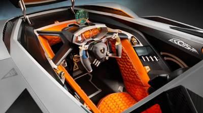 Lamborghini Egoista 'Selfish' Supercars