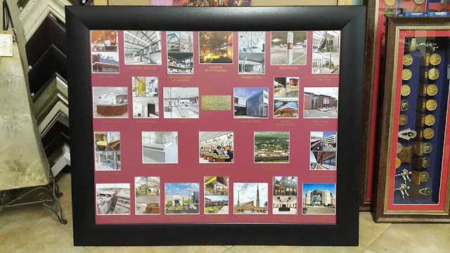 Photo collage framed by Absolute Frame - Picture Framing (Gauteng)