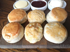 Scones at St Mary's Inn Morpeth Northumberland